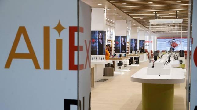 Primera tienda física Aliexpress en Madrid.