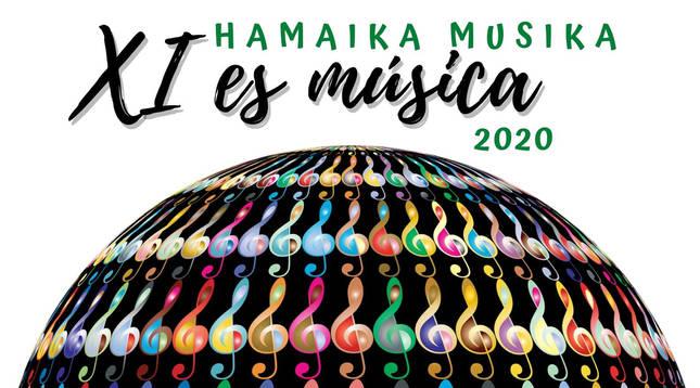 Cartel anunciador del segundo ciclo 'XI es Música'.