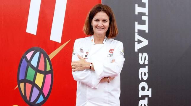 La cocinera Samantha Vallejo-Nágera.