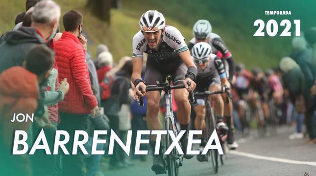 Caja Rural ha anunciado el fichaje de Jon Barrenetxea.