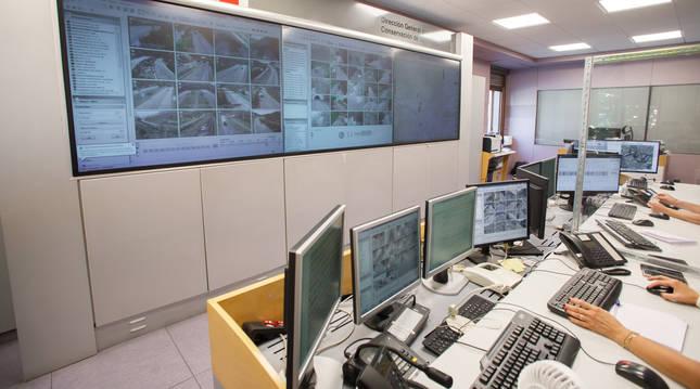 El Centro de Control de Conservación de Carreteras (C4), dependiente de Obras Públicas e Infraestructuras.
