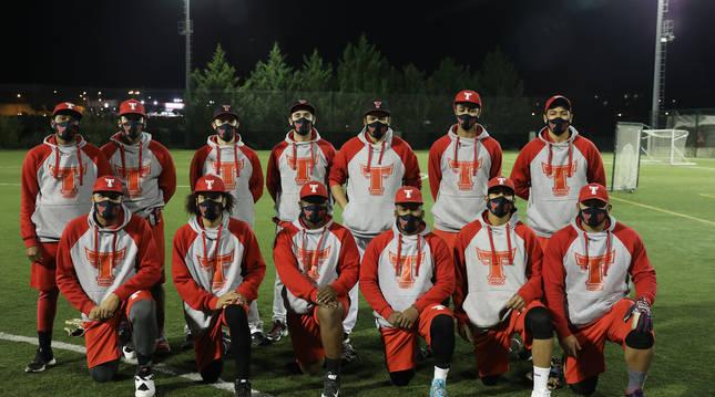 La plantilla del equipo de béisbol CBS Toros.