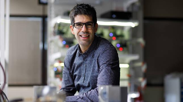 Miguel Beruete Díaz, investigador principal de la UPNA participante en el proyecto europeo Miracle.