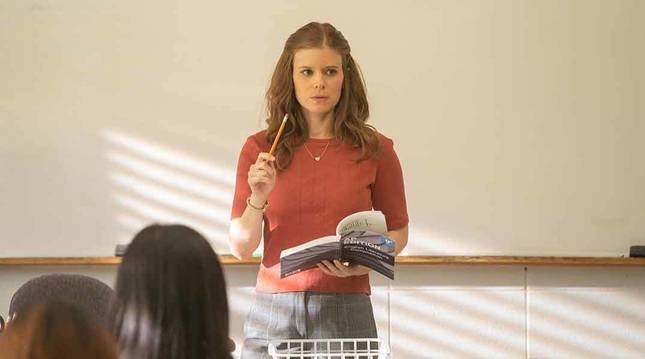 Kate Mara, en la serie 'A teacher'.