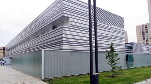 Exterior del centro de Salud Barañáin II.