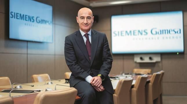 Enrique Pedrosa, nuevo director general para España de Siemens Gamesa.