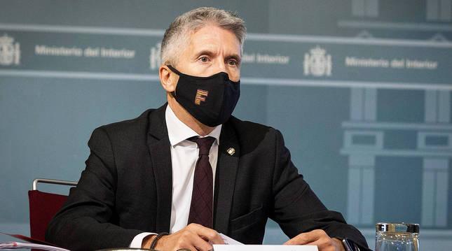 Fernando Grande-Marlaska, en una reunión anterior.