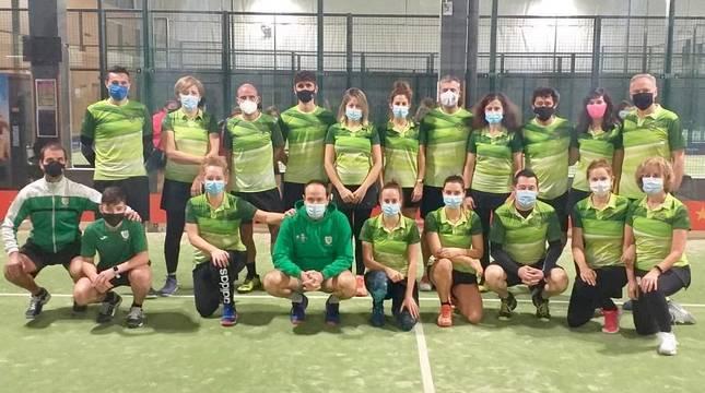 Doblete de Oberena en el Campeonato Navarro por Equipos de Clubes