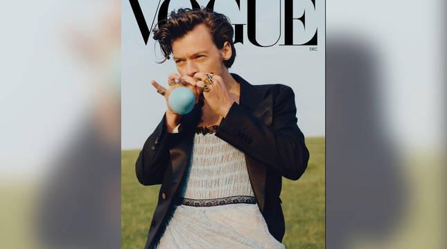 Portada de Vogue con Harry Styles.