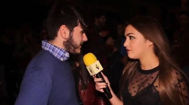 Un momento del vídeo de la 'youtuber' Sonia Suárez