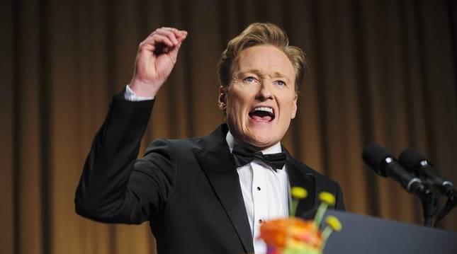 El humorista estadounidense Conan O'Brien.