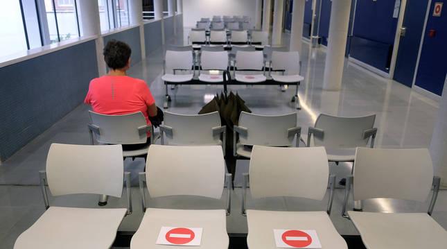 Foto del interior del centro de salud Rochapea (Pamplona).