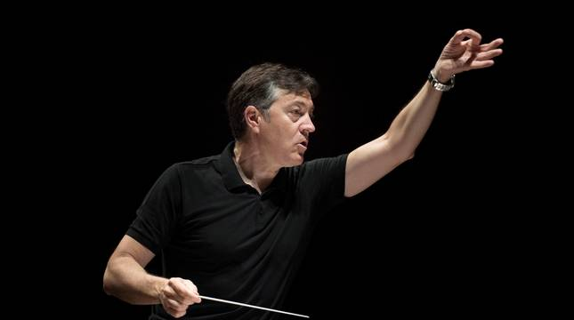 Jesús Echeverría dirigirá el concierto en Baluarte.