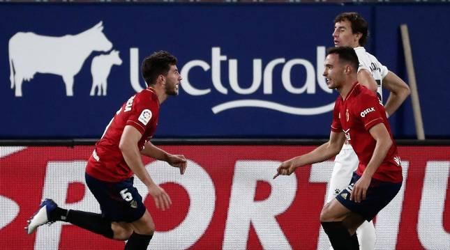 Fotos del partido Osasuna 1-1 Huesca