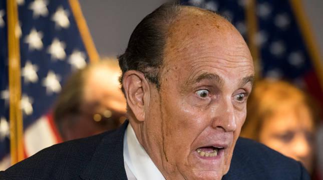 foto de Un encendido Rudy Giuliani asegura que existe una plan a nivel nacional para sacar a Trump de la Casa Blanca