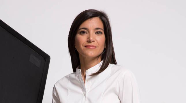La pamplonesa Sandra Ollo Razquin se encuentra al frente de la editorial Acantilado desde hace seis años.