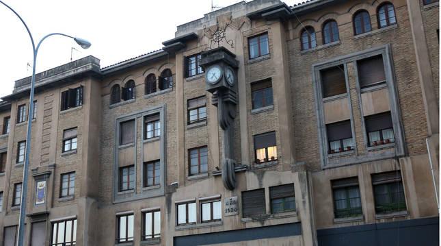 La antigua estación de autobuses de Pamplona es el lugar propuesto para situar las terrazas de los bares.
