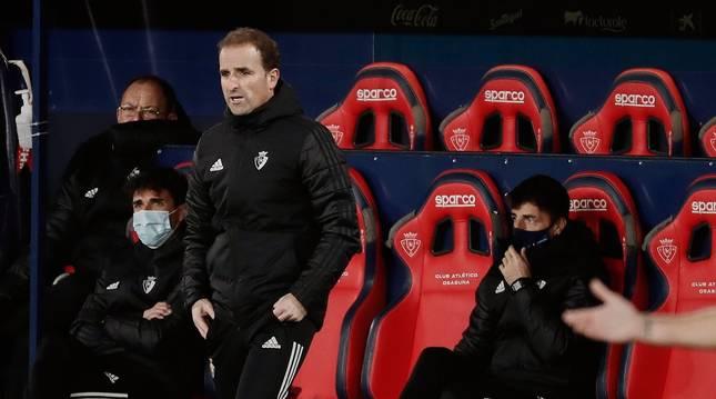 Jagoba Arrasate, entrenador de Osasuna.