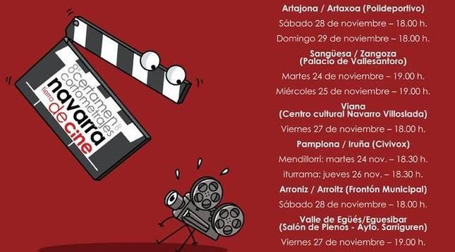 Llega el estreno de los finalistas en 'Navarra, tierra de cine'
