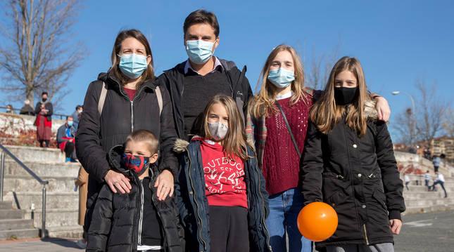 Familia Vinco-Goñi, que consideran la ley como una privación de la libertad.
