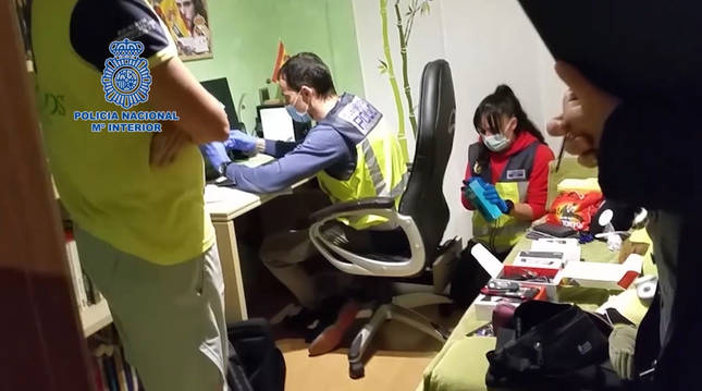 Detenidos siete pedófilos por intercambiar pornografía infantil por Internet