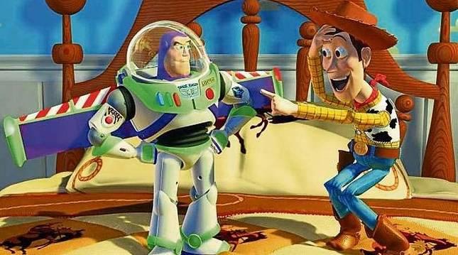 Una escena de 'Toy Story'.