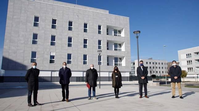 El Gobierno de Navarra construye las primeras VPO con calefacción 100% renovable