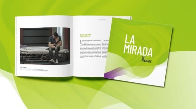 Foto del libro 'La mirada del paciente', publicado por Cinfa.