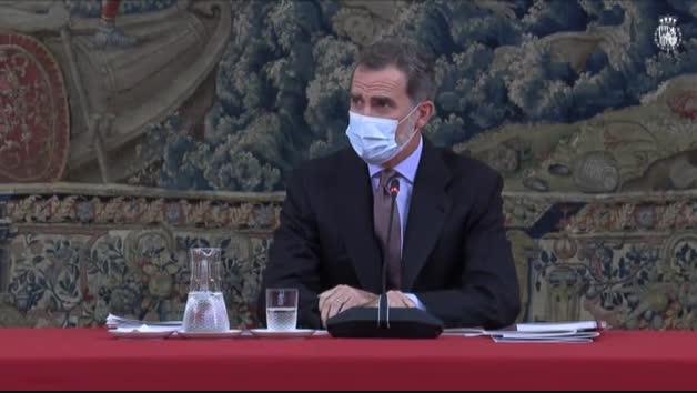 Vídeo: Felipe VI se pone en cuarentena tras haber tenido contacto con un positivo en coronavirus