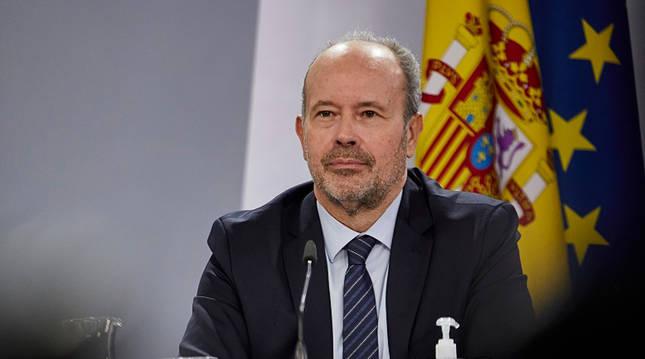 Foto del ministro de Justicia, Juan Carlos Campo.