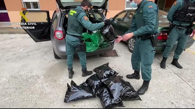 Operación de la Guardia Civil en Cizur.
