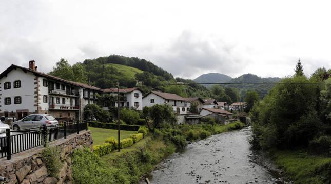 Imagen de Etxalar (Navarra).