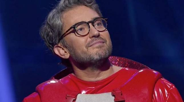 Máximo Huerta, tras quitarse la máscara en 'Mask Singer España'