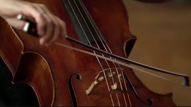 La violonchelista que revive los museos franceses