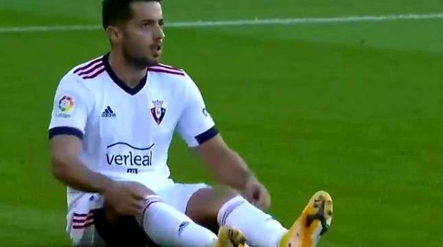 Jony, lesionado en el Camp Nou