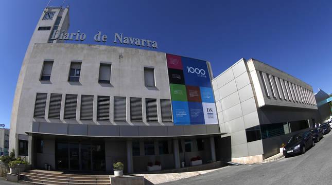 El edificio de Diario de Navarra en Cordovilla.