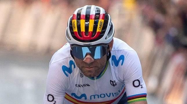 Alejandro Valverde tendrá 41 años la próxima temporada.