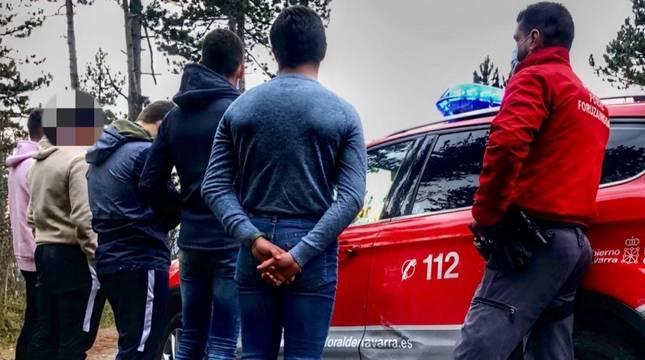 Denunciados nueve menores que estaban de botellón en San Cristóbal