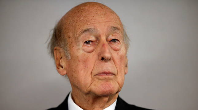 foto de El expresidente de Francia, Giscar d'Estaing.