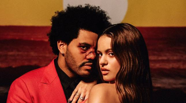foto de Rosalía y The Weeknd se han unido para hacer un remix de 'Blinding lights', la canción más escuchada del año