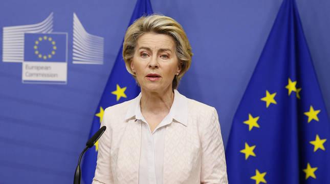 Foto de Ursula von der Leyen, presidenta de la Comisión Europea