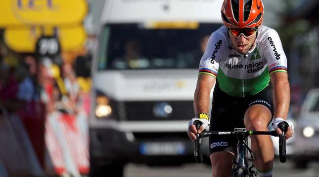 Foto del ciclista Mark Cavendish.