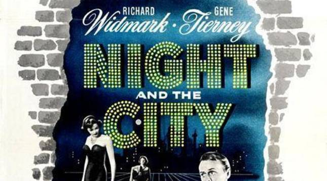 La película 'La noche en la ciudad' ('Night and the City') se proyectará el 14 de enero.