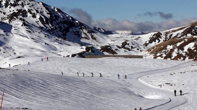 Fotos de la apertura de la estación de esquí navarra de Larra-Belagua