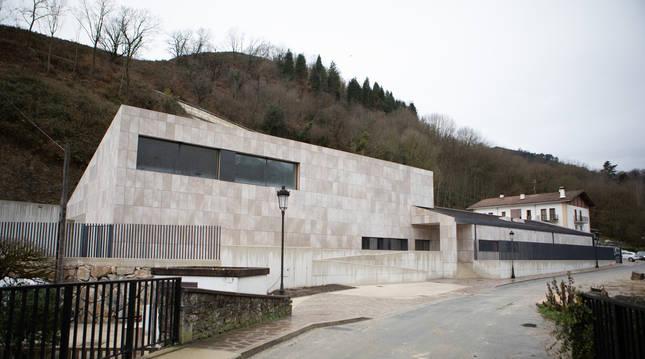 Nuevo colegio de Ituren