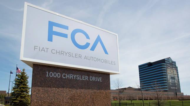 Sede de Fiat Chrysler Automobiles (FCA) en Auburn Hills (Michigan)