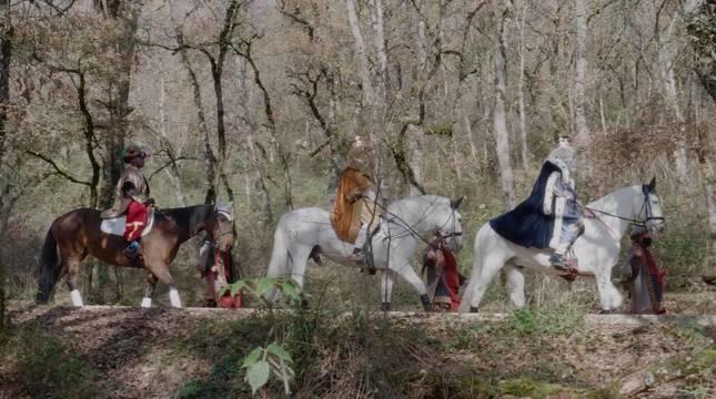 Melchor, Gaspar y Baltasar han sido vistos en unas montañas cercanas a la frontera con Navarra.