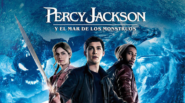 Cartel de la película 'Percy Jackson y el mar de los monstruos'