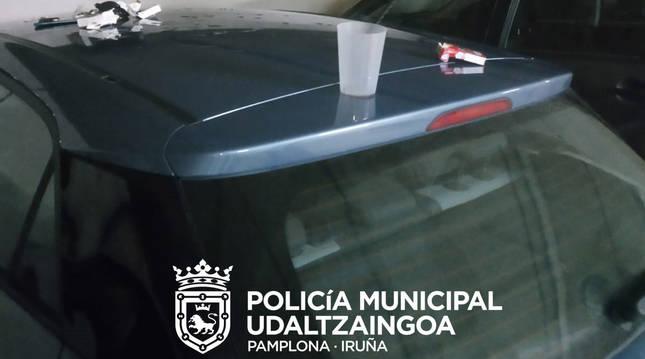 Cinco denunciados en Mendillorri (Pamplona) por no respetar la normativa sanitaria y portar cocaína y speed