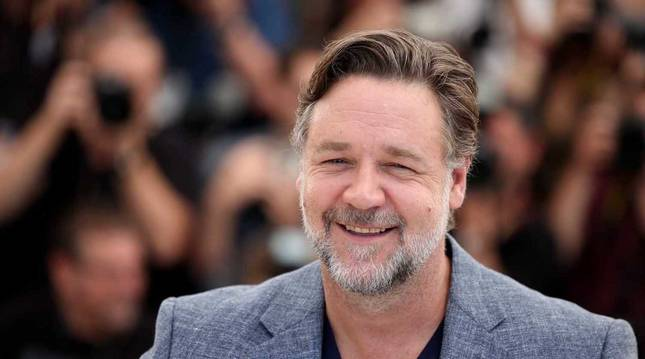 Foto del actor Russell Crowe.